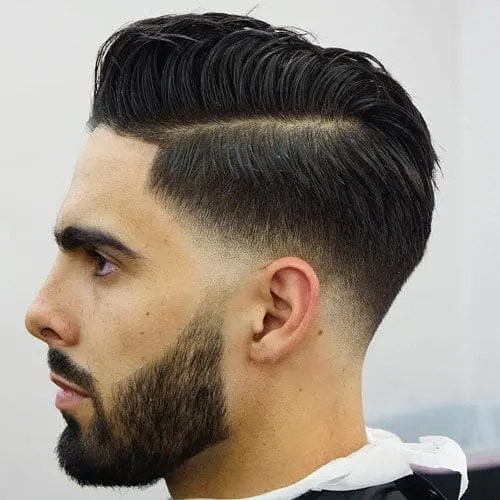 Low Fade mens short hairstyles