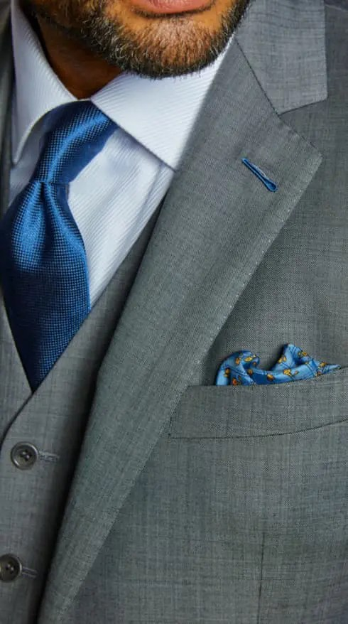 custom bespoke suit