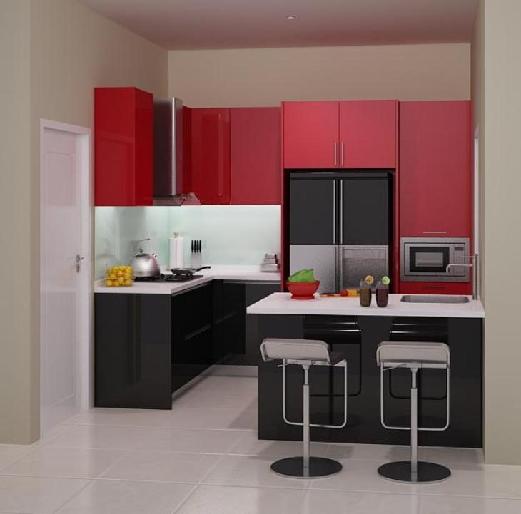 Kitchen Set Model G G Shape Mode