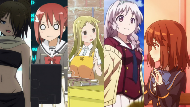 Thoughts on Yuuki Yuuna, Inou-Battle, Denki-gai, Trinity Seven and Girl Friend BETA