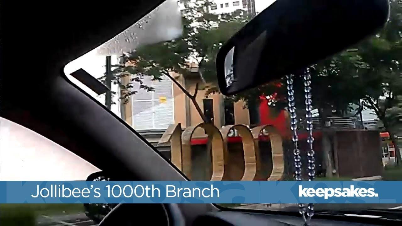 Jollibee's 1000th Store