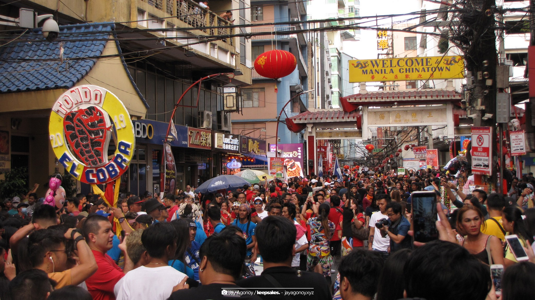 Chinese (Lunar) New Year in Binondo Manila 2019