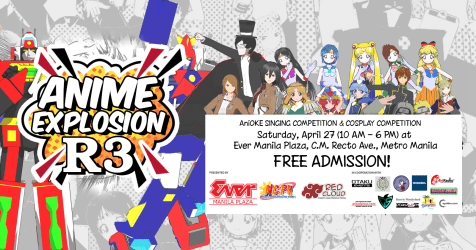 PGF Summer Assembly 2019, Anime Explosion R3 to be held on the last weekend of April