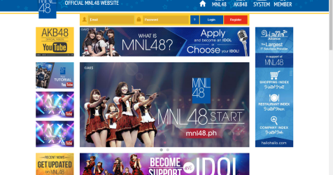 MNL48.ph is up — I signed up as a fan