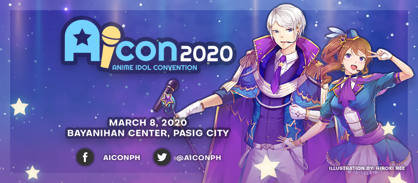 Anime Idol Convention 2020 on March 8 in Pasig City (Update 2)