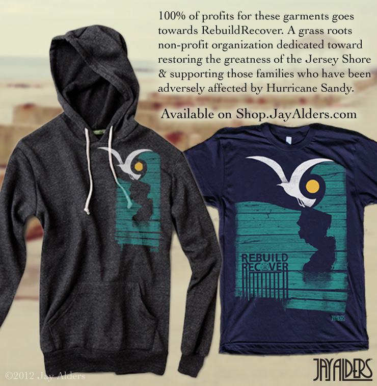 Hurricane Sandy Relief T-Shirts