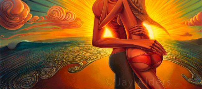 Jay Alders, una mirada a su Surf Art. (1/4)
