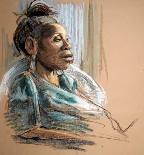 Study of an Old Black Woman