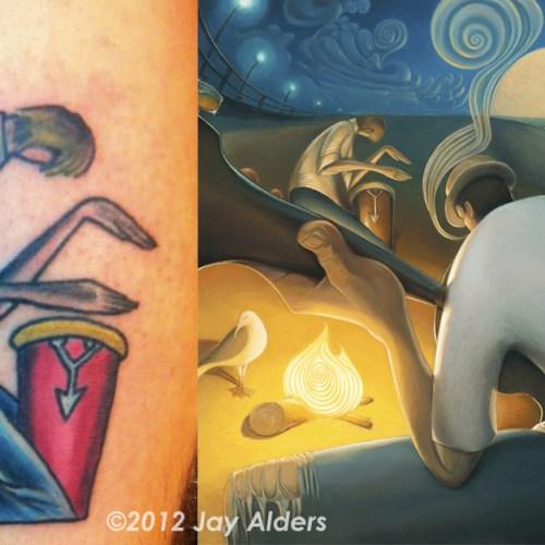 burninginspiration-drummer-tattoo-alders