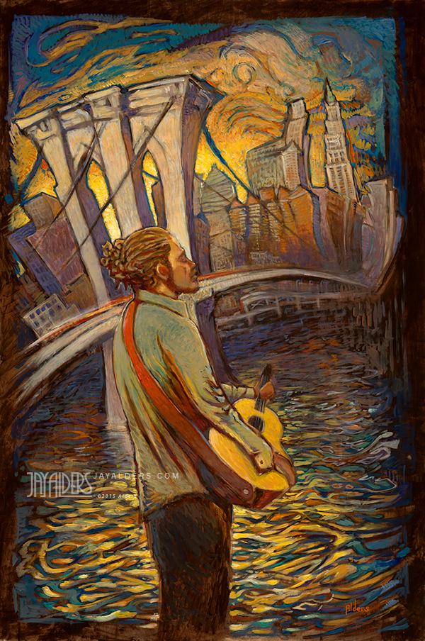 Under the Sun - Citizen Cope Painting Art