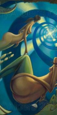 Fairy Tails - Mermaids Art Painting by Jay Alders