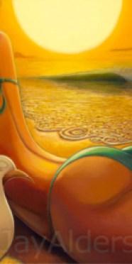 Sweet Aspirations - beach babe art by Jay Alders