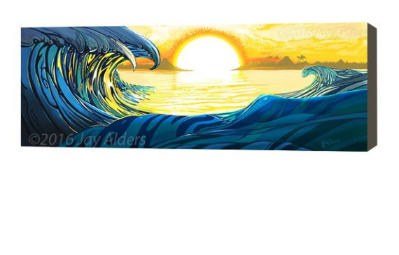 Aztec Swell -Art from Closer to the Sun