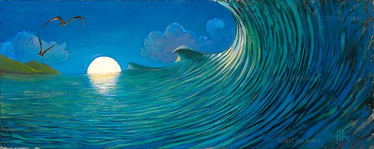 Bali Triple Set Art of surfing