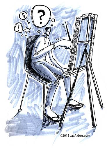 Struggles of Artists by Jay Alders