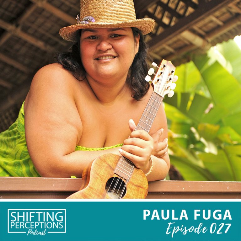 Paula Fuga interview on Shifting Perceptions Podcast