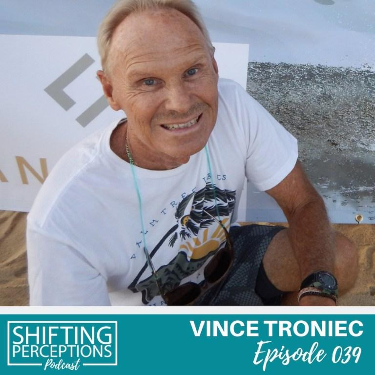 Surf legend Vince Troniec
