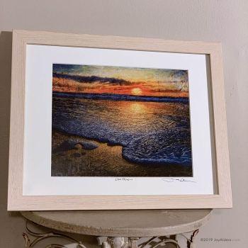 Sea Quell - Beach Seascape contemporary art print by Alders