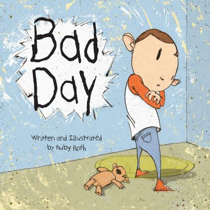 Bad day kids book