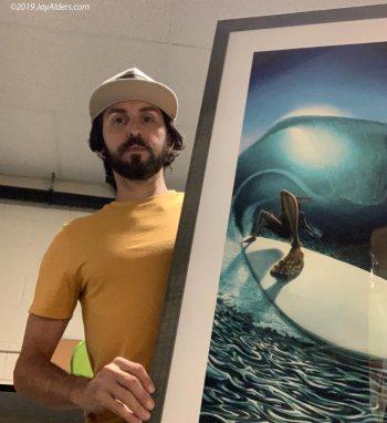 modern surf art by jay alders