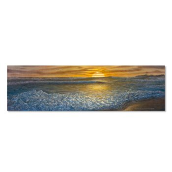 Fall Swell at the inlet -manasquan art painting by alders