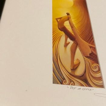 Surfing art by jay alders
