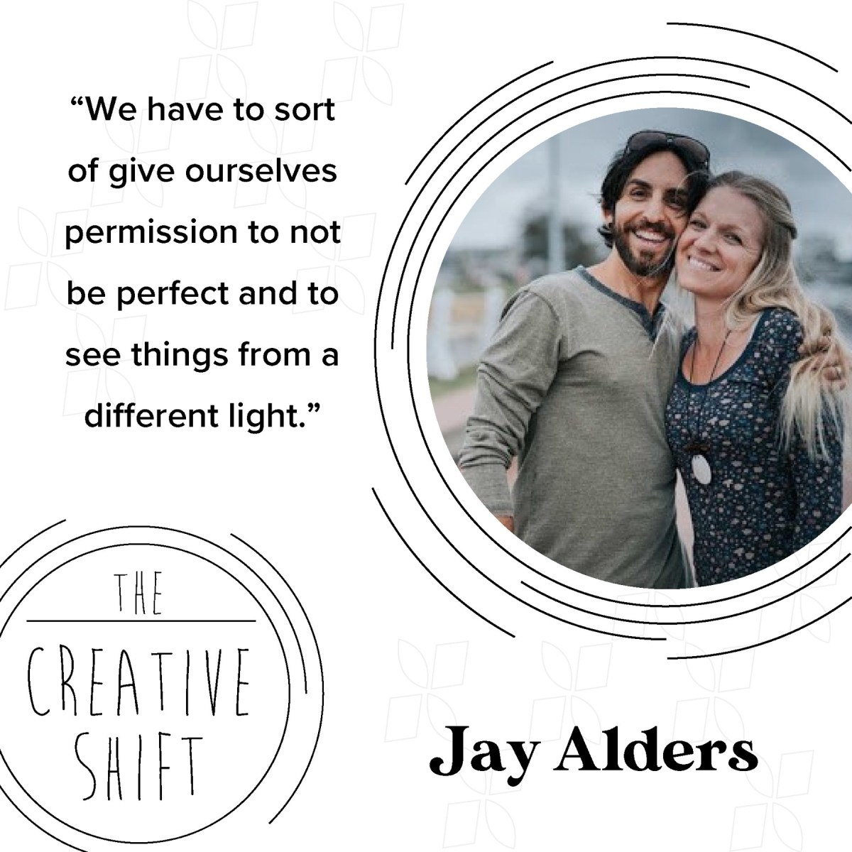 interview during lockdown with artist Jay Alders