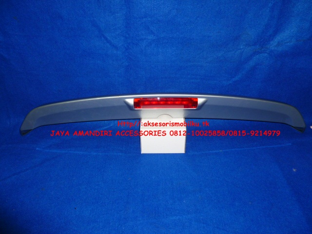 jual spoiler grand new avanza yaris trd sportivo indonesia all xenia jaya mandiri aksesoris rear ori