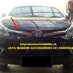 Grill Chrome Grand New Avanza Harga Yaris Trd Sportivo All Xenia Jaya Mandiri Aksesoris