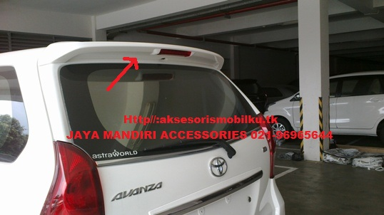 spoiler grand new avanza interior all alphard 2018 great xenia 2016 jaya mandiri aksesoris toyota