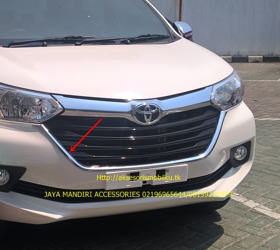aksesoris grand new avanza speedometer great xenia 2016 jaya mandiri list grill bumper