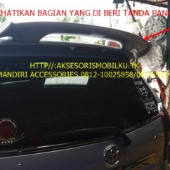 Spoiler Grand New Avanza Yaris Trd Sportivo Manual Great Xenia 2016 Jaya Mandiri Aksesoris Mugen