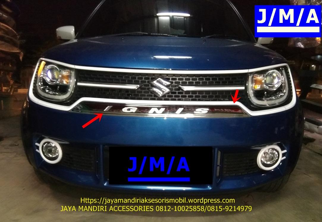 cover jok grand new avanza roof rack jma-cover bumper chrome ignis | jaya mandiri aksesoris