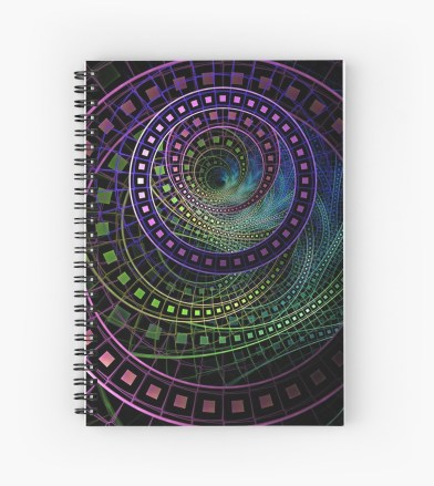 """""""Oz the Great and Powerful"""" spiral notebook"""