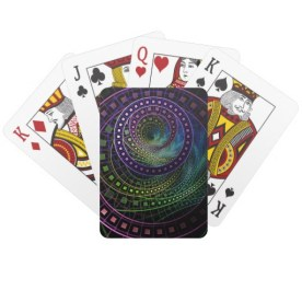 """""""Oz the Great and Powerful"""" poker cards"""