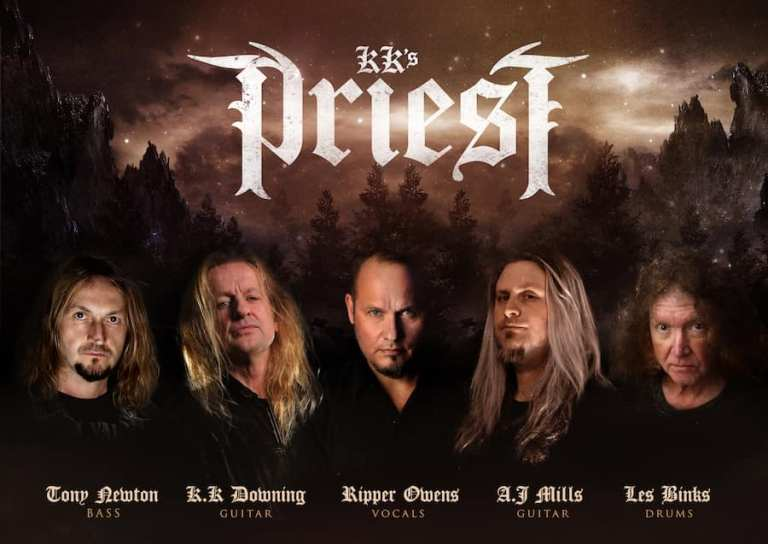 Promo of the band's line-up