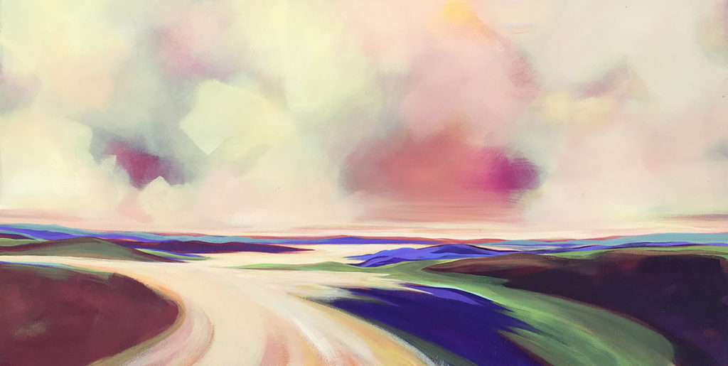 summer delta abstracts acrylic