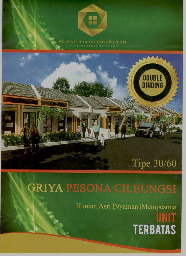 brosur Griya pesona Cileungsi 1