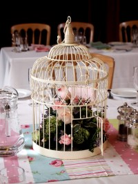 Bird cage table decoration | Jaybird Flowers
