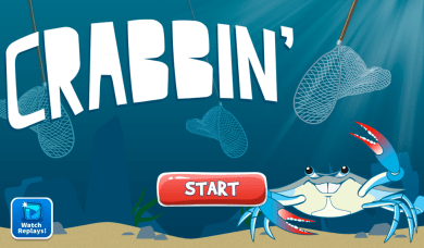 View user videos from the main menu of Crabbin.