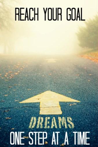 Jay Carteré| Jay Cartere| Reach your goal: one step at a time