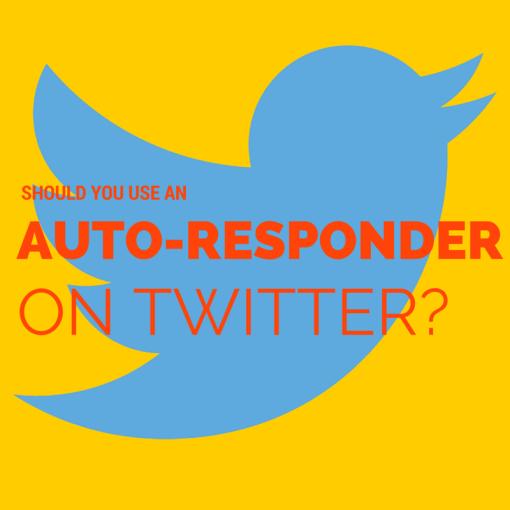 Jay Carteré| Jay Cartere| Should You Use An Auto-Responder On Twitter?