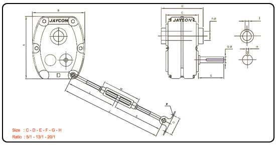 Shaft Mounted Speed Reducer,Shaft Mounted Gearbox