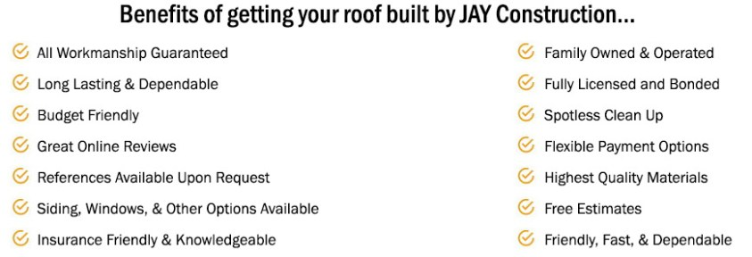 Dependable, On-time, Roof building