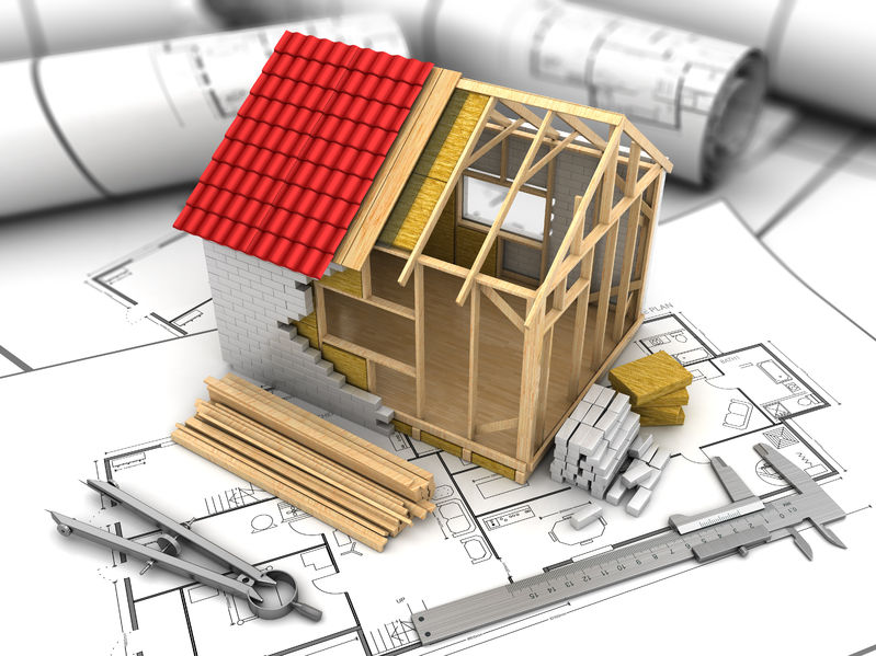 new model house building