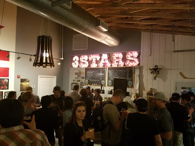 Beer festival at 3 Stars