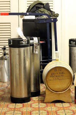 The first two were kegged when the third half went into the barrel.