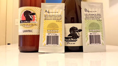 BlackMan Yeast samples and homebrew.