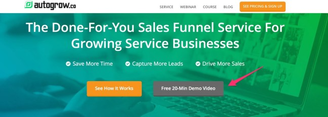 Done For You Funnel Service AutoGrow co