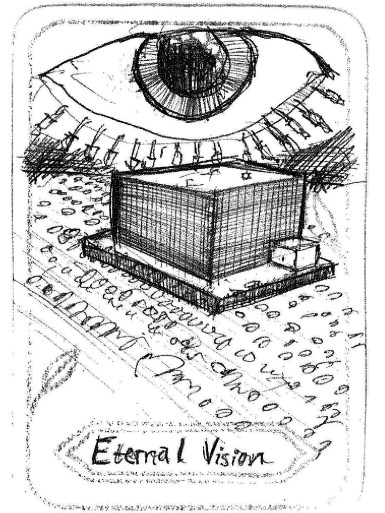 "Eternal Vision, by David Buttn Inspired by 'Judgment' ""NSA….."""
